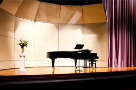 university's Bosendorfer Imperial Grand Piano