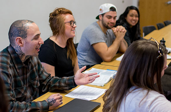 The Masters in Social Work Advanced Standing program enables full-time students to complete their MSW at George Fox in nine months.